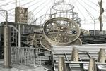 Carlos Diaz: Coney Island-Invented Landscape #54-NY-00, 2000
