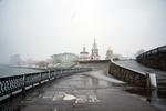 Frank Ward: Riverfront View, Angara River, Irkutsk, Siberia, 2010