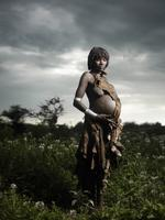 Joey L: Photograph of Pregnant Hamer Woman