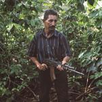 Kevin Kunishi: Raúl with AK-47, Wiwilí, 2010 (Contra)