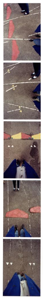 Laurie Tümer: Racetrack with Maria, Mesa Vista, 1999