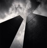 Michael Kenna: Twin Towers, Study 2, New York City, USA, 2000