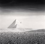 Michael Kenna: Giza Pyramids, Study 3, Cairo, Egypt, 2009