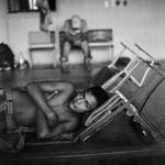 Michelle Frankfurter: Home of Mercy migrant shelter, Arriaga, Chiapas, 2009