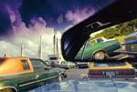 Nathan Benn: Parking Space, 1981