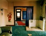 Steve Fitch: View inside a house in Ancho, eastern New Mexico, May 14, 2000