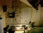 Steve Fitch: Bathroom in a house in Model, eastern Colorado, February 11, 1994