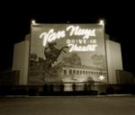 Steve Fitch: Drive-in theater, Highway I-5, Van Nuys, California, 1973