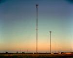 Steve Fitch: Radio Tower Near Sudan, Texas; October 18, 2010