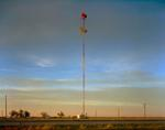 Steve Fitch: Radio Tower on the Llano Estacado Near Umbarger, Texas; March 11, 2005
