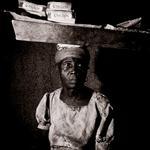 William Coupon: Chicklet Lady, Jacmel, Haiti, 1979
